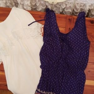 Dress and romper bundle